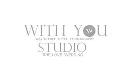 with you studio 婚攝鮪魚攝影工作室 logo